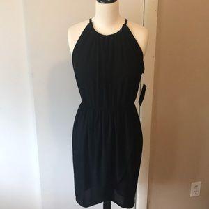 NWT Zara black flirty dress